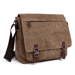 $enCountryForm.capitalKeyWord UK - New Men Messenger Bags Fashion Bolsa Masculina Travel Shoulder Bags Portatiles Ordenadores Canvas Briefcase Chapeu Masculino J190629