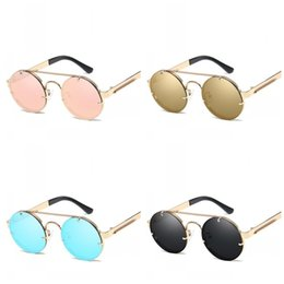 d8689bec1 Prince round mirrored sunglasses online shopping - Round Frame Sunglasses  Spring Mirror Leg Eye Glasses Retro