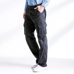 $enCountryForm.capitalKeyWord Australia - 2018 Mens Tactical Cargo Pants Men Combat Pants Baggy Army Green Pant For Workman Fitness Khaki Pocket Trousers NO belt