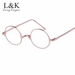 465443d86b5 Designer Optical Frame Wholesale Australia - 2019 New Brand Designer Woman  Glasses Optical Frames Metal Round