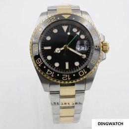 Reloj Correa de oro de 18 quilates. 40 mm de bisel de cerámica. Espejo de zafiro. Movimiento mecánico automático. en venta