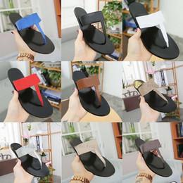 $enCountryForm.capitalKeyWord Australia - luxury Women Leather Slippers flip flops Designer Slippers Metal chains Summer sandals Beach Shoes fashion slippers with box designer slide