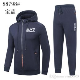 Wholesale new casual look men online – design Men s new fall hoodie looks smart and trendy spring and autumn sports suit jacket