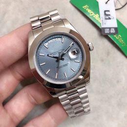 $enCountryForm.capitalKeyWord Australia - U1 Factory watch men automatic DAY DATE Big face Mechanics men's watches Sapphire original 18K Stainless steel clasp