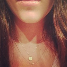 Spirit Pendants Australia - Round Sports Medals Pendant Necklace (Mind Body And Spirit) No Dogeared Choker Clavicle Jewelry for Fashion Women