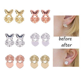 magic lift Canada - Fashion Magic Backs Support Earring Creative Woman Bax Earring Backs Lifts Fits All Post Earrings Lady Jewelry Accessories