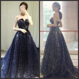 $enCountryForm.capitalKeyWord Australia - Sunning Elegant Prom Dresses Strapless Sexy Backless 2019 Fashion Luxury Formal Evening Dresses Sweep Train Beads Sequins Party Gowns