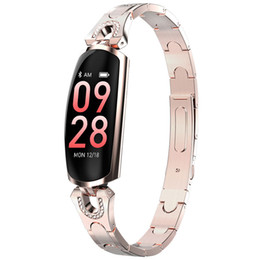 $enCountryForm.capitalKeyWord UK - Smart Watch android Bracelet for women smartwatch fashion lady wristwatch girl High grade wristband with Bluetooth AK16