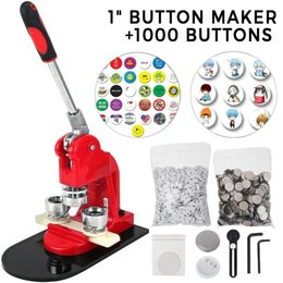 Wholesale buttons makers for sale - Group buy Button Maker Inch mm Button Badge Maker Aluminum Frame Free Button Parts and Circle Cutter