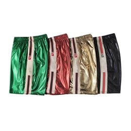 $enCountryForm.capitalKeyWord UK - Mens Designer Shorts Luxury Letter G Cropped Pants Fashion Striped Beach Shorts for Hip Hop Breathable Sweatpants 2019 Summer