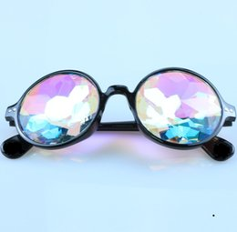 concert glasses Australia - Kaleidoscope electronic concert glass faceted mosaic glasses Night show costumes with cool glasses