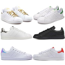 $enCountryForm.capitalKeyWord Canada - Cheap sale stan men women Skateboarding shoes smith Casual black white green sneaker running shoes sports trainer shoes Breathable eur 36-44