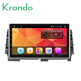 "Touch Video NZ - Krando Android 8.1 10.1"" IPS Big Screen Full touch car dvd Multimedia system radio player for Nissan Kicks 2014 video gps BT wifi"