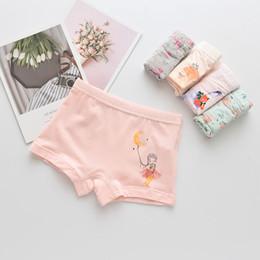 $enCountryForm.capitalKeyWord NZ - 5Pcs lot Girls Cotton Boxer Briefs Children Panties Girls Boxer Shorts Children's Panties Kids Underwear For 2-14 Years