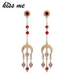 $enCountryForm.capitalKeyWord Australia - Women Long Earrings Classic Fashion Resin Glass Geometric Dangle Earrings Fashion Jewelry Accessories