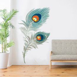 Simple Wallpapers UK - Simple wallpaper dormitory college wall decoration bedroom feather stickers self-adhesive wall stickers
