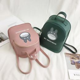 c11f7e70cb77 2019 Cute New Hot Anime Totoro Backpack Cosplay Backpacks Student School  Bags Women Girls Bags