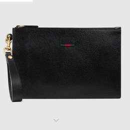 $enCountryForm.capitalKeyWord Australia - 428758 Striped webbing leather clutch MEN WALLET CHAIN WALLETS PURSE Shoulder Bags Crossbody Bag Belt Bags Mini Bags Clutches Exotics