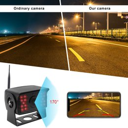 back parking 2019 - Vehicle IR LED Back up Wireless WIFI Parking Assistance Night Vision Waterproof Rearview Camera for Car RV Truck Trailer