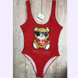cute women swimsuits 2019 - Cute Bear Girls Summer Bodysuits Personality Backless Soft Women Bikinis Outdoor Beach Popular Lovely Lady Swimsuits che