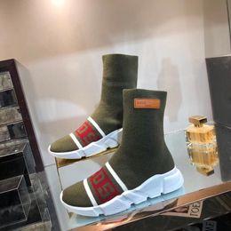 $enCountryForm.capitalKeyWord Australia - Luxury Speed Sneakers X Gcds Mens Women Classic Arena Sock Boot Textile Upper High -Top Stretch Knit Sneaker Socks Boots Bal06