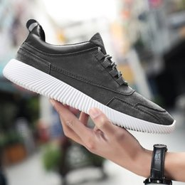1084c6a6780 Taobao Pop Spring Leather Men s Trend Sneakers Men s Leisure Korean Version  of A Hundred Board Shoes Running Shoes