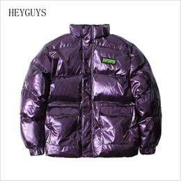 Wholesale bomber jacket women winter for sale – winter Mens winter fashion hip hop print jacket Hip Hop Streetwear Jacket Men Bomber Jackets Women Windbreaker Bubble Coats