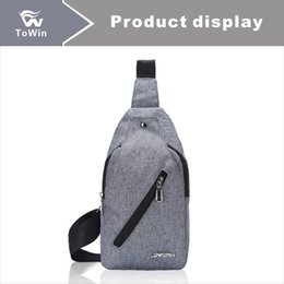 $enCountryForm.capitalKeyWord NZ - 2019 Mixed Wholesale Chest Bag Canvas Material Casual Sports Style Practical Beach Bag Sling Bag Fanny Pack Fashionable Activities Wallet