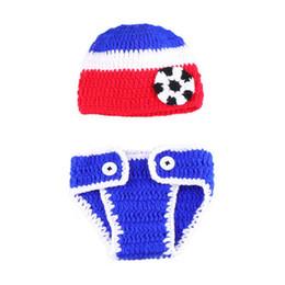 803ba20524e Lovely Crochet Baby Soccer Costume