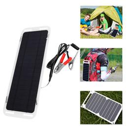 Company Cars Australia - 5W 5V 5Watt Extremely Flexible Monocrystalline Solar Panel Charge Battery Clips for Boat Car Power Supply USB