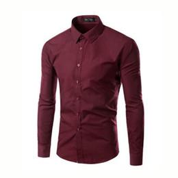 25ff476e53e Korean Style Men Long Sleeve Casual Shirts Camisa