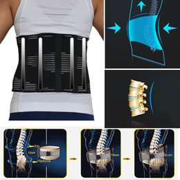 $enCountryForm.capitalKeyWord Australia - New Elastic Adjustable Posture Corrector Brace Lower Back Waist Trimmer Belt Lumbar Belt Corset For Men Women T190816