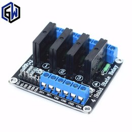 Low reLay moduLe online shopping - Freeshipping V Channel V DC Relay Module Solid State Low Level SSR AVR DSP A V
