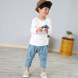 $enCountryForm.capitalKeyWord NZ - 2019 Cotton Baby Boy Girl Summer T Shirts New Comfortable Tops Tee Children Clothing Kids Button 80-130cm Height