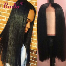$enCountryForm.capitalKeyWord Australia - 360 Full Lace Human Hair Wigs Natural Hairline Remy Straight Wig With Baby Hair Lace Front Wigs For Black Women Brazilian Virgin Hair