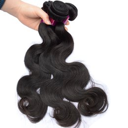 Chinese  Best Brazilian Human Hair Weave 3 Bundles Thick Healthy Dyeable Top Quality Body Wave Virgin Hair Extensions Cheap Pretty Fast Drop Shipping manufacturers