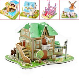 $enCountryForm.capitalKeyWord Australia - DIY Paper Toys Stereo Picture Puzzles For Kids Originality Intelligence Mosaic Category Manual Jigsaw Puzzle EPS Building Blocks 1 8sm M1