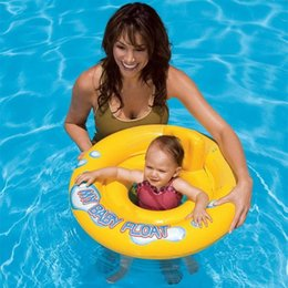 $enCountryForm.capitalKeyWord Australia - Baby Infant Kids Inflatable Swimming Ring Toddler Seat Pool Float Bath Water Fun Bathing Swim Trainer Toy Swim Pool Accessories