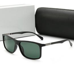 954d035714 Calidad Moda Vintage Gafas de sol de conducción Aviadores Hombres Deportes  Diseñador Famoso Gafas de sol para hombre Gafas de sol polarizadas UV con  caja B5