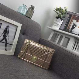 $enCountryForm.capitalKeyWord Australia - DOIR Fashion patent leather rose gold chain WOMEN HANDBAGS ICONIC TOP HANDLES SHOULDER BAGS TOTES CROSS BODY bag CLUTCHES EVENING