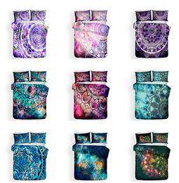 $enCountryForm.capitalKeyWord Canada - Mandala pattern Design Bedding Set 2PC 3PC Duvet Cover Set Of Quilt Cover & Pillowcase Twin Full Queen King Size