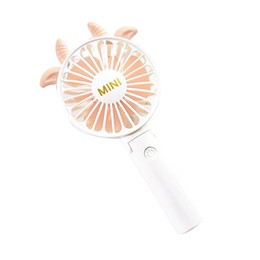 Handy fans online shopping - Mini Fan Portable Handhold Fan With Rechargeable Built In Battery USB Port Design Handy For Smart Home Foldable Mute Cooling