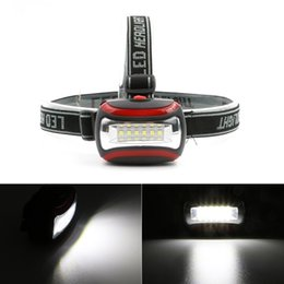 Lamp for camping online shopping - Mini SMD LED Headlamp Head Light Lamp Flashlight For Hiking Camping Night Fishing Waterproof Headlamp By AAA Batteries