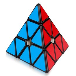 Chinese  Yuxin Huanglong 3x3 Magnetic Triangle Cube PyramiSpeed Puzzle Zhisheng MagicCube 3x3x3 Cubo Magico Educational Toys for Children manufacturers