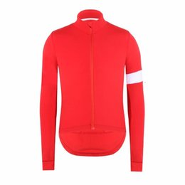 spain clothes UK - SPEXCEL High quality 2020 NEW RED winter thermal fleece Cycling Jersey Road bicycle clothes Spain Ropa Ciclismo bike shirt