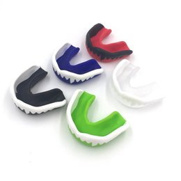 tooth ring Canada - Mouth Protector Teeth Gum Shield Shield Muay Thai Boxing Rugby Fight Basketball Soccer Sport Teeth Guard Orthodontic Retainer