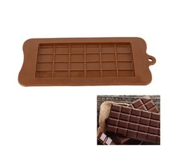 $enCountryForm.capitalKeyWord Australia - 24 Even Square Silicone Mold Kitchen Baking Tool Silicone Chocolate Mold Candy Maker Sugar Mould Bar Block Ice Tray Cake Tool