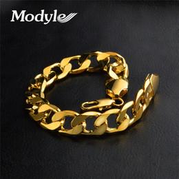 $enCountryForm.capitalKeyWord Australia - LETAPI 6mm 8mm 10mm 12mm Link Chain Bracelets for Men Sliver Gold Punk Bracelets Fashion Party Jewelry Gift Men Bracelet