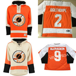 Discount shooting jersey - Ogie ogilthorpe Hoodies #2 Syracuse Bulldogs Slap Shot Move Jerseys All Stitched Custom Any Name Any Number Ice Hockey J