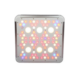 square plant grow light UK - AC85-265V Full Spectrum 300W COB LED Plant Grow Light VEB & BLOOM High PPFD Indoor Hydroponic Flower Vegetable Medical Plant Growing Lamp